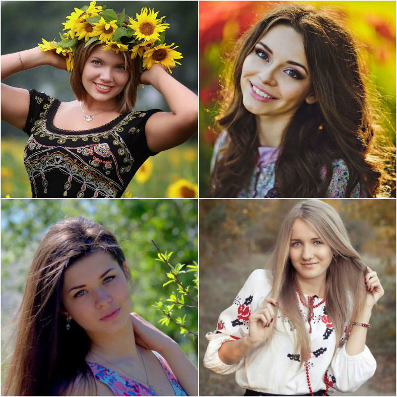 Attractive women from Ukraine